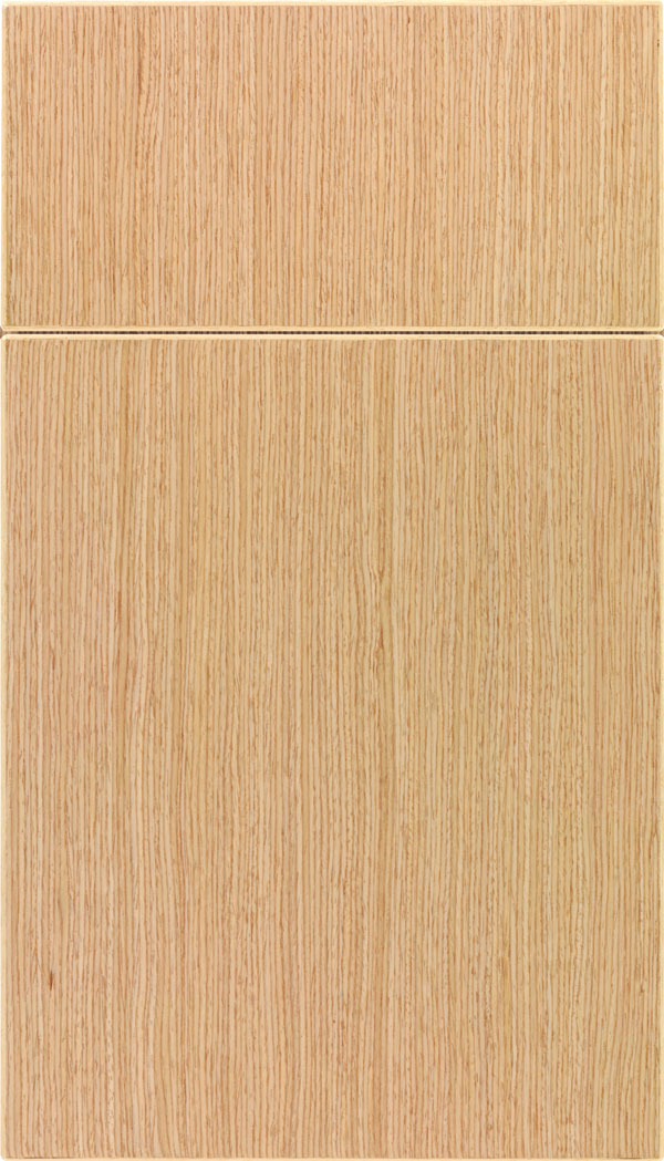 Summit White Oak slab cabinet door in Natural