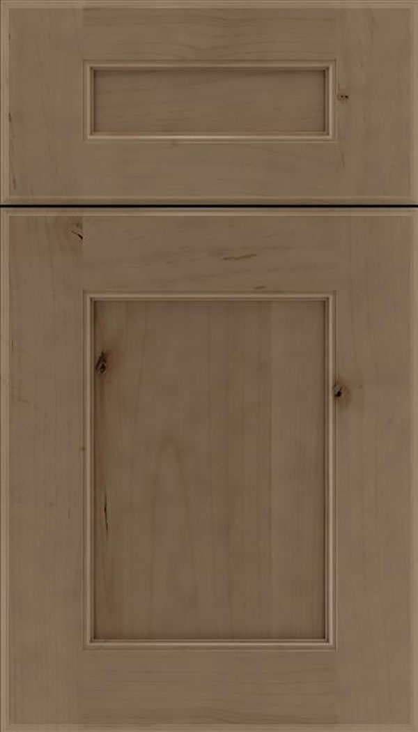 Tamarind 5pc Alder shaker cabinet door in Winter