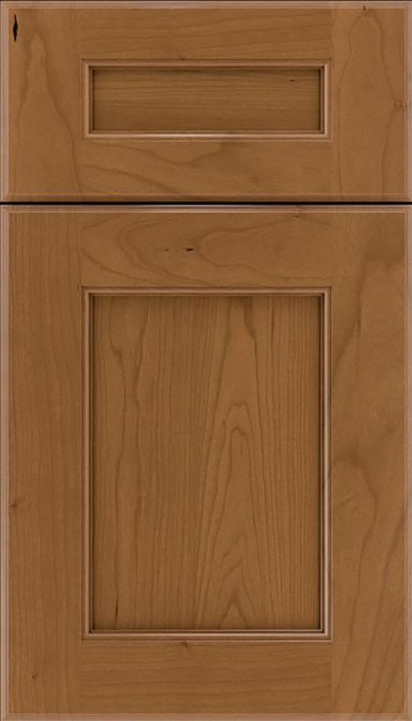 Tamarind 5pc Cherry shaker cabinet door in Tuscan