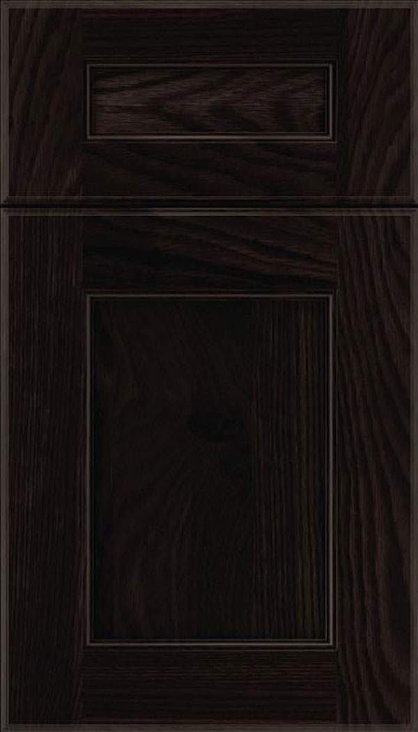 Tamarind 5pc Oak shaker cabinet door in Charcoal