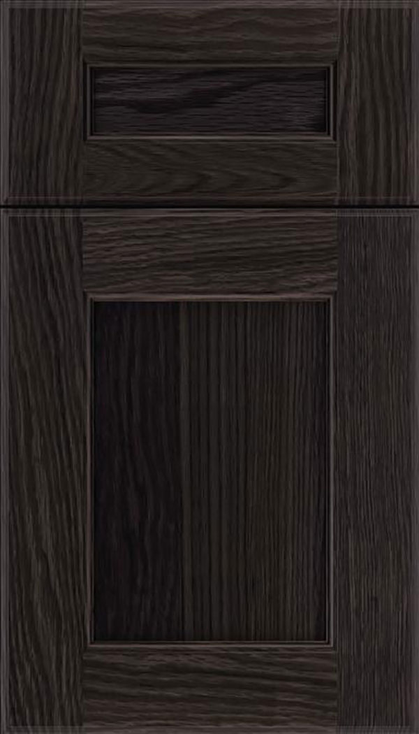 Tamarind 5pc Oak shaker cabinet door in Espresso