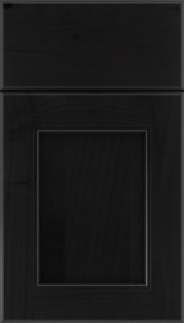 Tamarind Alder shaker cabinet door in Charcoal