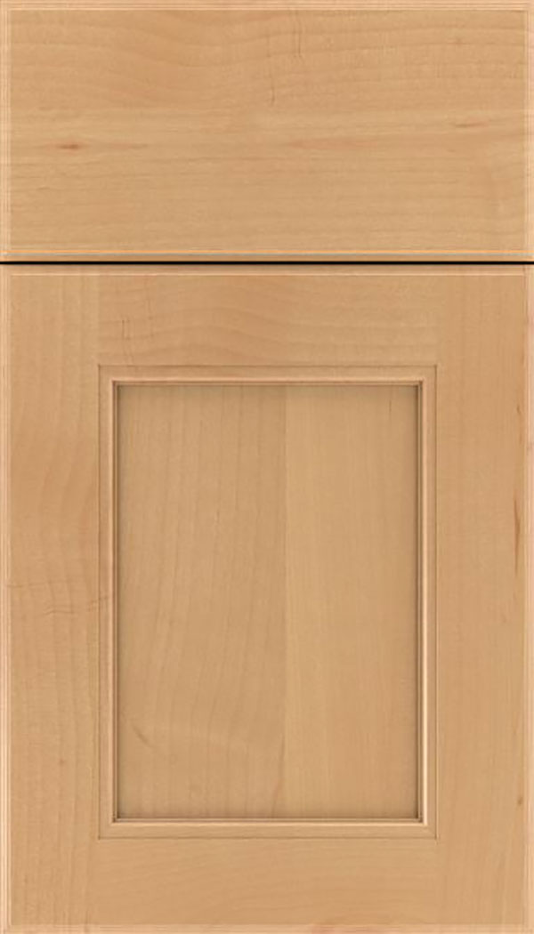Tamarind Alder shaker cabinet door in Natural