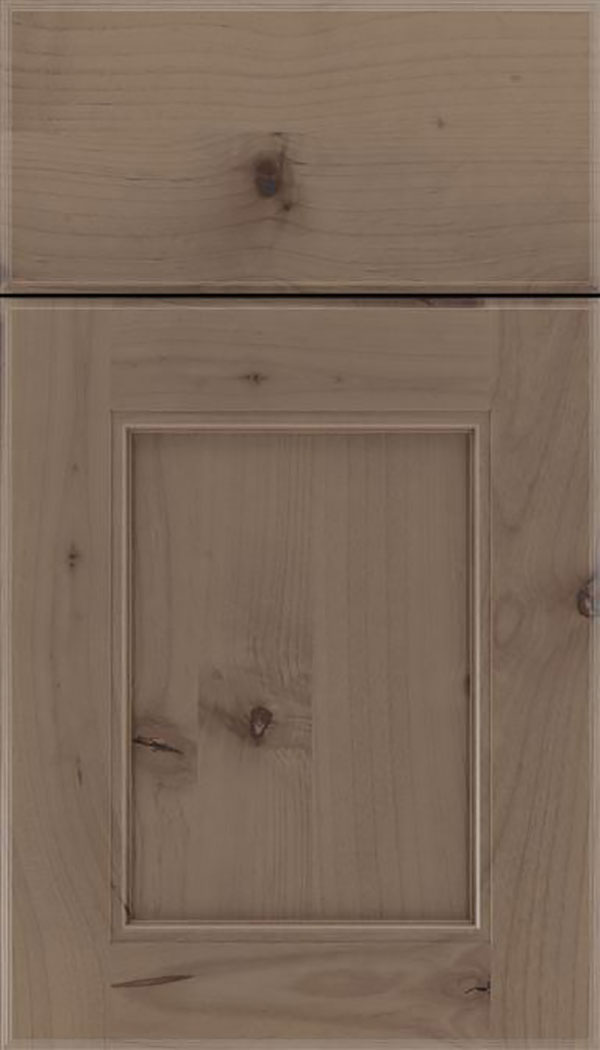 Tamarind Alder shaker cabinet door in Winter
