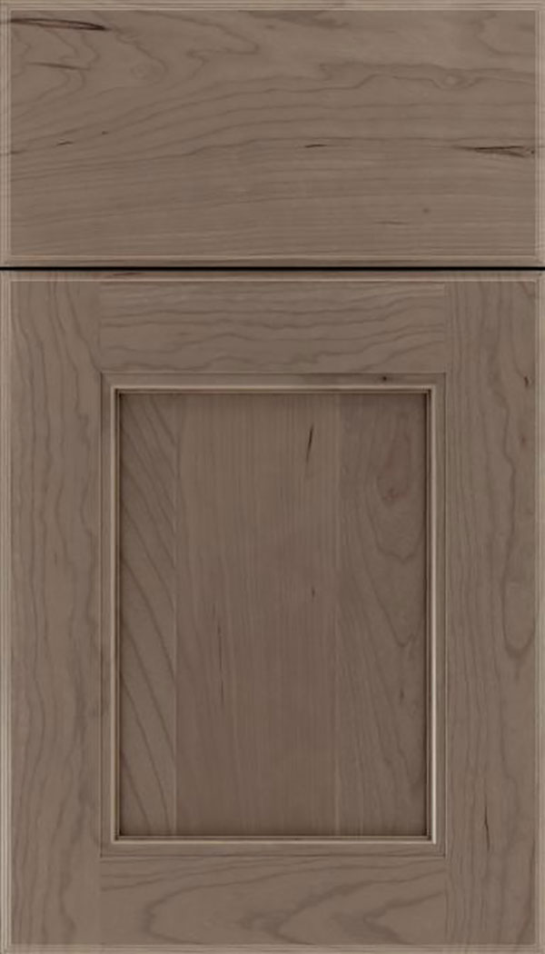 Tamarind Cherry shaker cabinet door in Winter