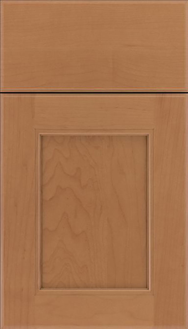 Tamarind Maple shaker cabinet door in Nutmeg