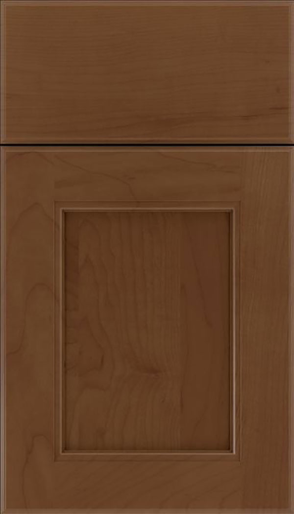 Tamarind Maple shaker cabinet door in Sienna