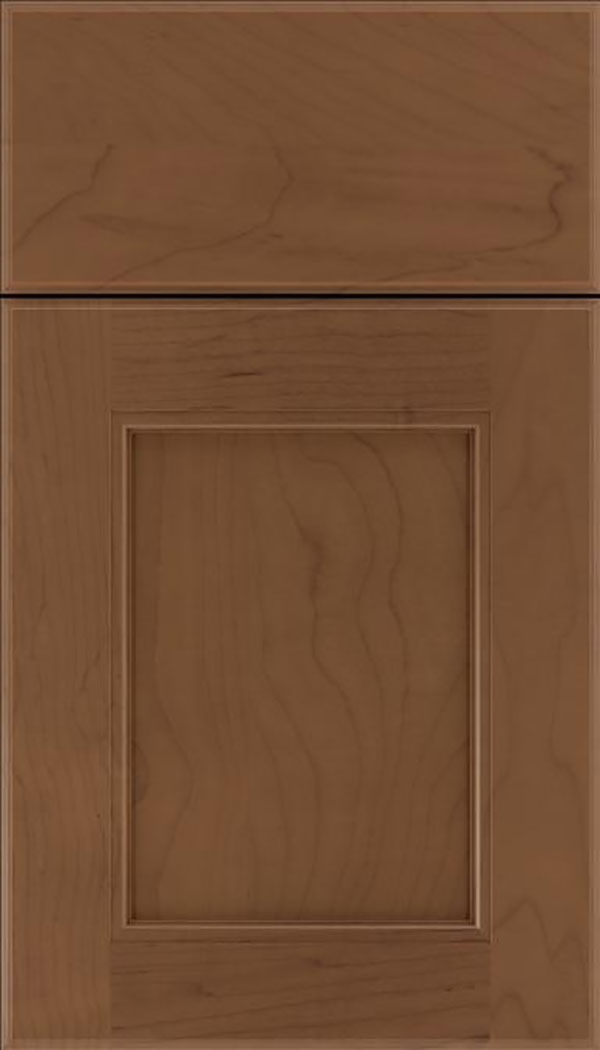 Tamarind Maple shaker cabinet door in Toffee