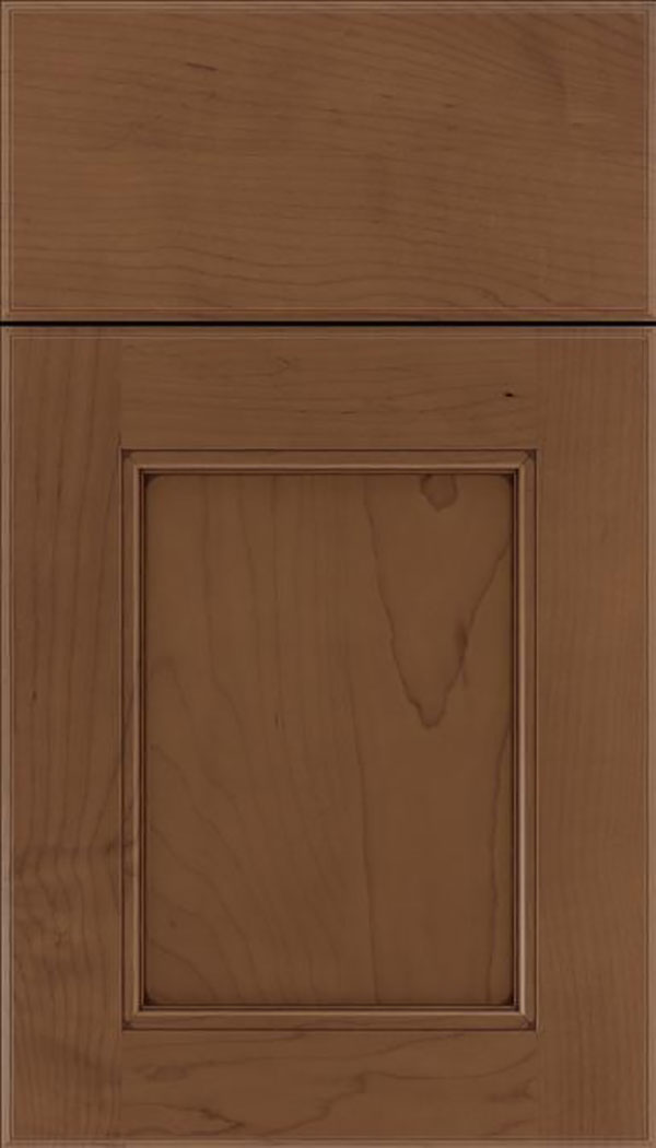 Tamarind Maple shaker cabinet door in Toffee with Mocha glaze