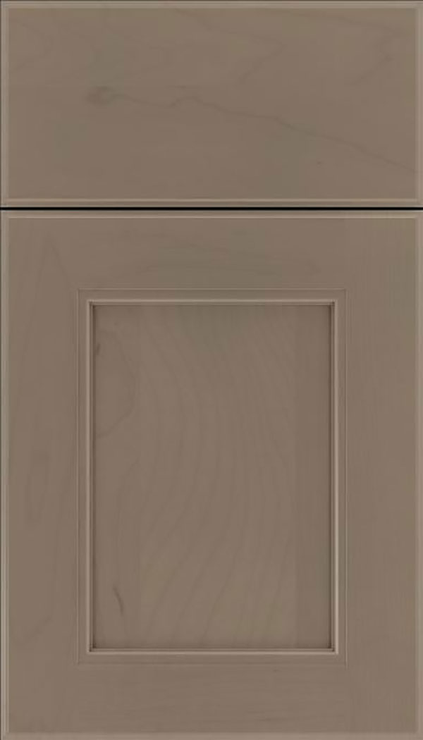 Tamarind Maple shaker cabinet door in Winter