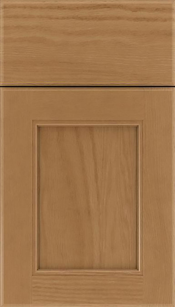 Tamarind Oak shaker cabinet door in Tuscan