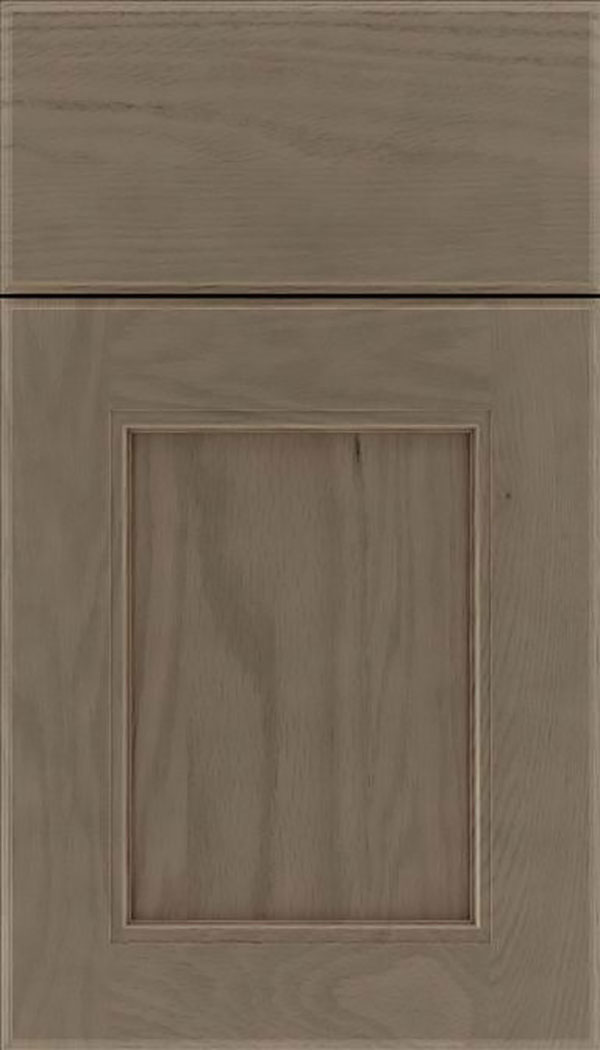 Tamarind Oak shaker cabinet door in Winter