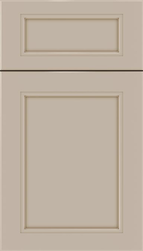 Templeton 5pc Maple recessed panel cabinet door in Moonlight