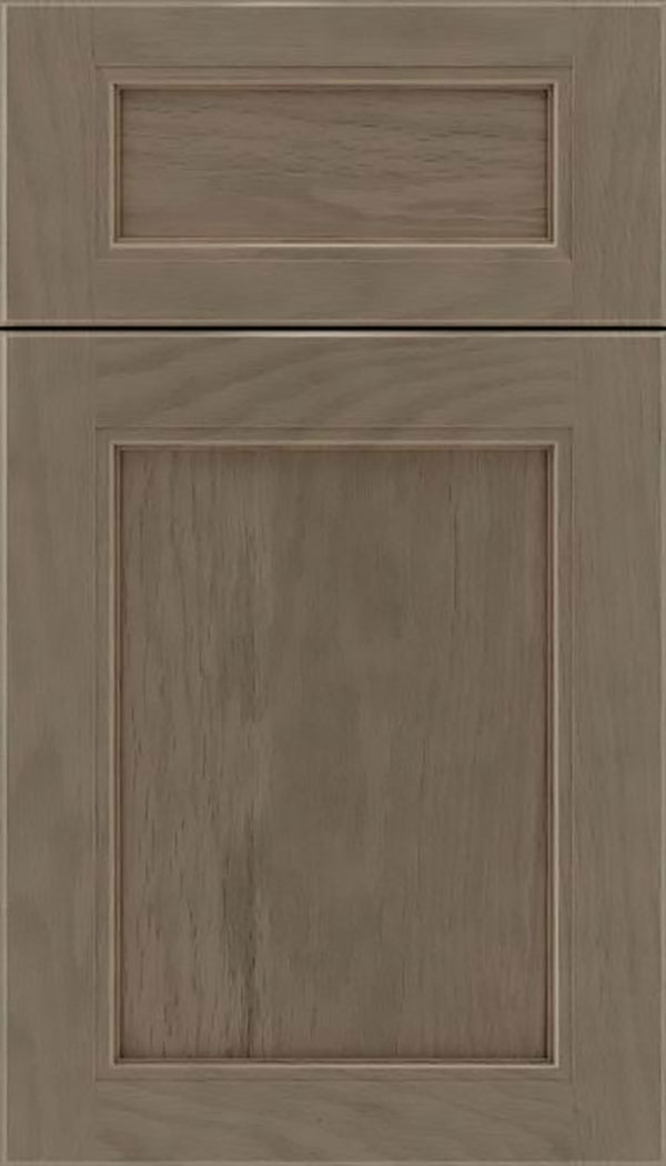 Templeton 5pc Oak recessed panel cabinet door in Winter