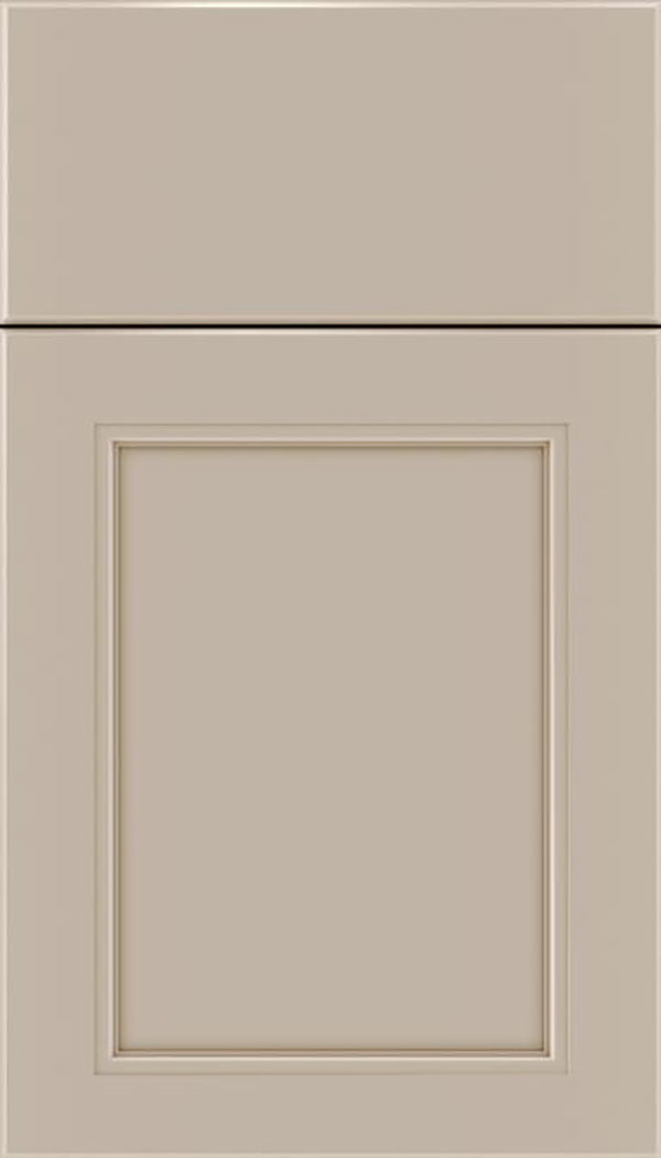 Templeton Maple recessed panel cabinet door in Moonlight