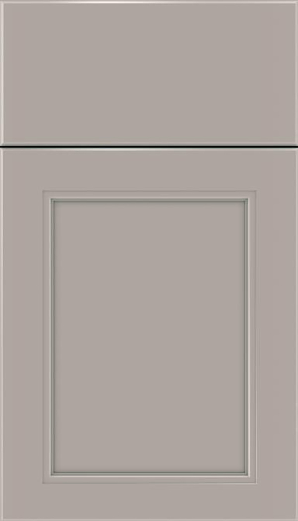 Templeton Maple recessed panel cabinet door in Nimbus