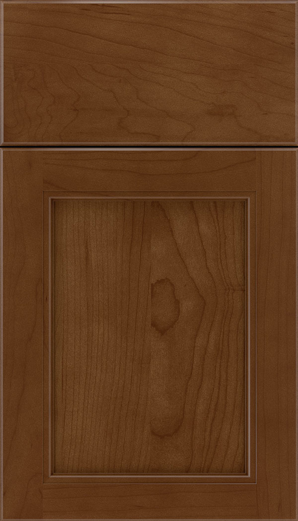 Templeton Maple recessed panel cabinet door in Sienna
