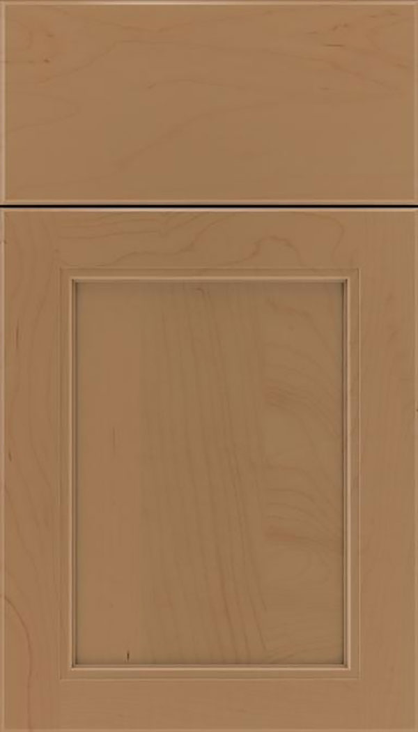 Templeton Maple recessed panel cabinet door in Tuscan