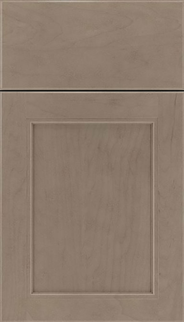 Templeton Maple recessed panel cabinet door in Winter