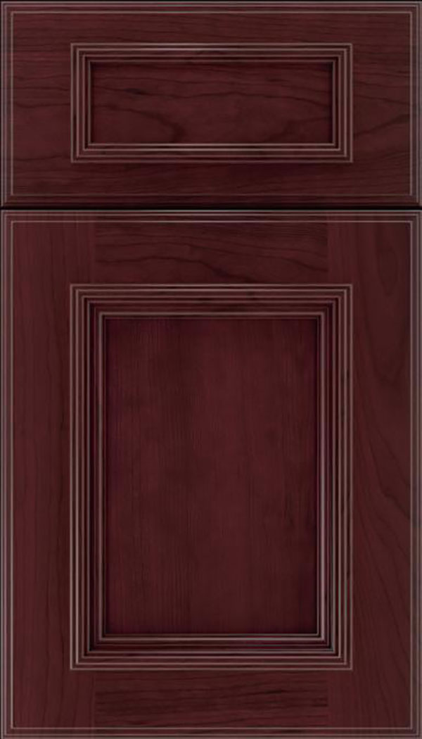 wellington_5pc_cherry_flat_panel_cabinet_door_bordeaux
