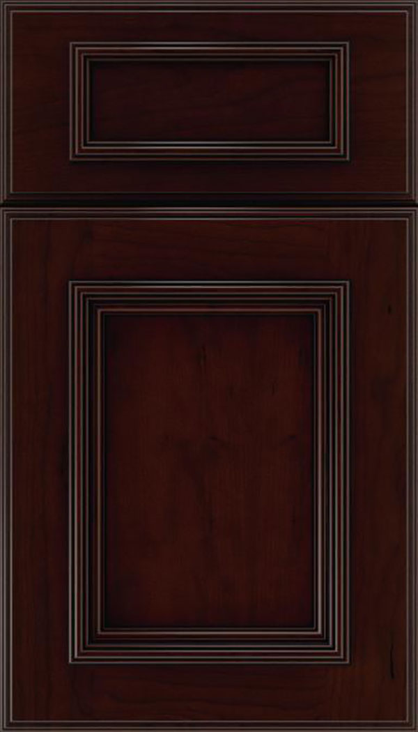 wellington_5pc_cherry_flat_panel_cabinet_door_cappuccino_black