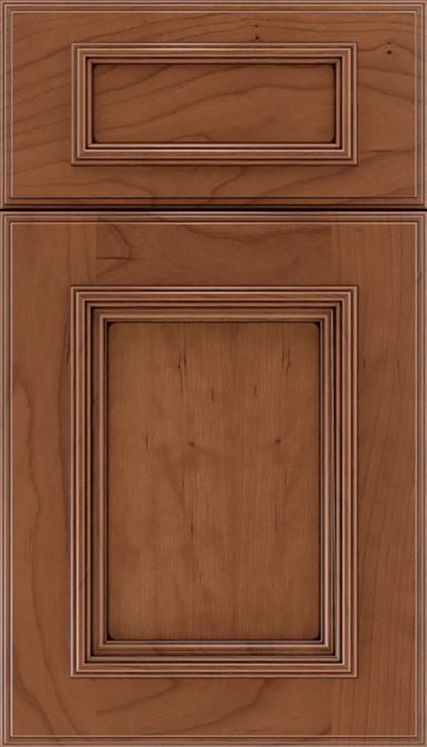 wellington_5pc_cherry_flat_panel_cabinet_door_nutmeg_mocha