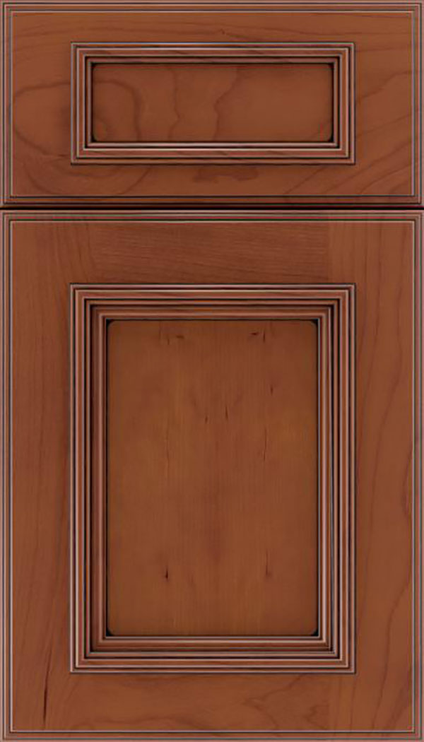 wellington_5pc_cherry_flat_panel_cabinet_door_russet_black