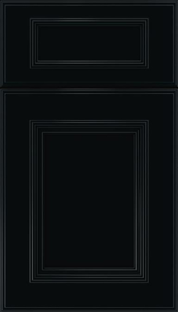 wellington_5pc_maple_flat_panel_cabinet_door_black