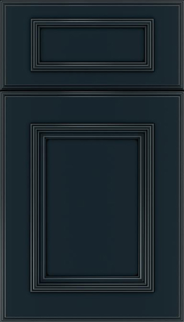 wellington_5pc_maple_flat_panel_cabinet_door_gunmetal_blue_black