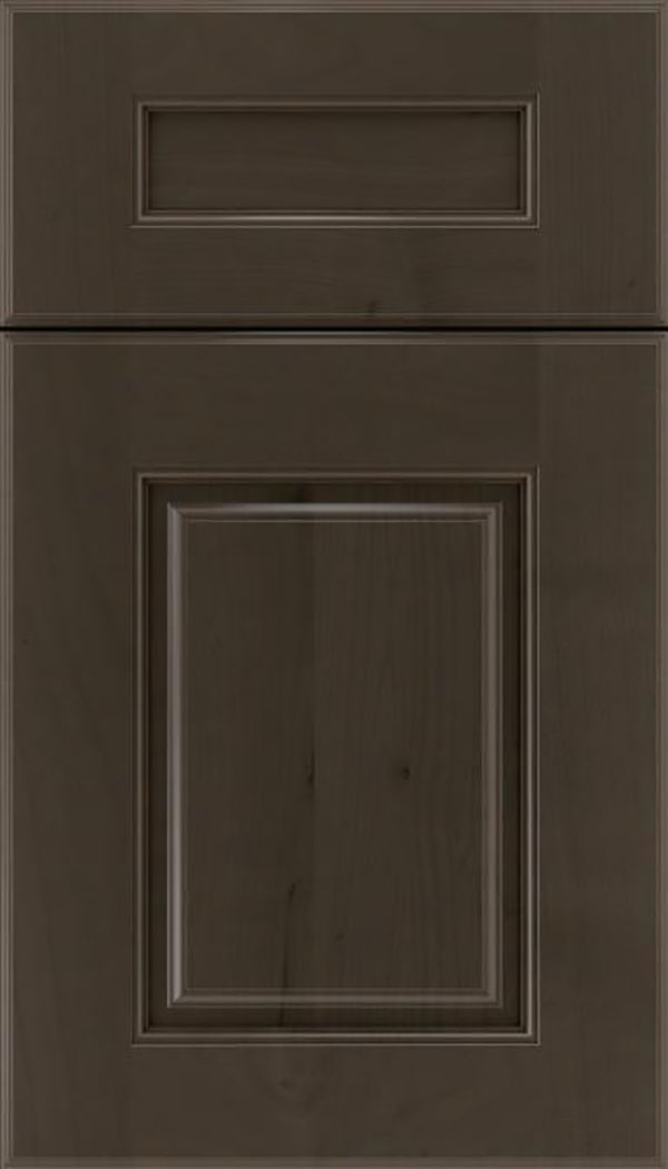 Whittington 5pc Alder raised panel cabinet door in Thunder