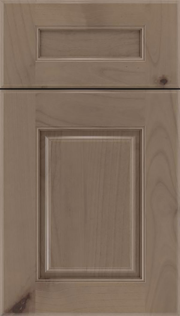 Whittington 5pc Alder raised panel cabinet door in Winter