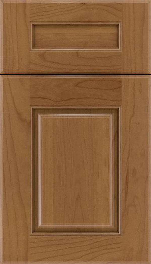 Whittington 5pc Cherry raised panel cabinet door in Tuscan