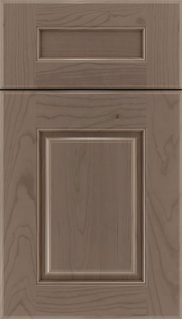 Whittington 5pc Cherry raised panel cabinet door in Winter