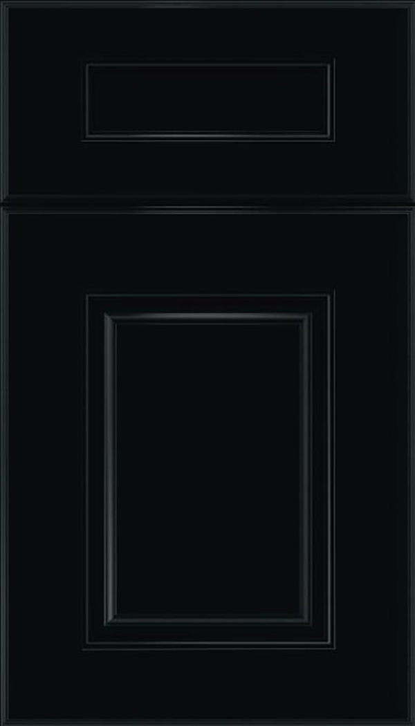 Whittington 5pc Maple raised panel cabinet door in Black