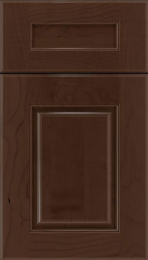 Whittington 5pc Maple raised panel cabinet door in Cappuccino
