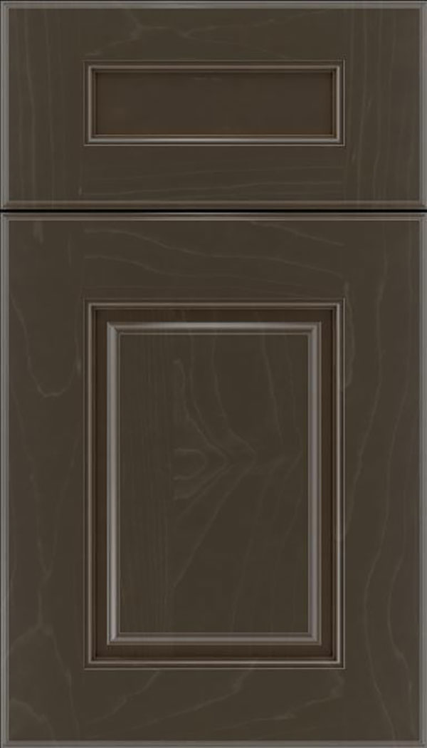 Whittington 5pc Maple raised panel cabinet door in Thunder