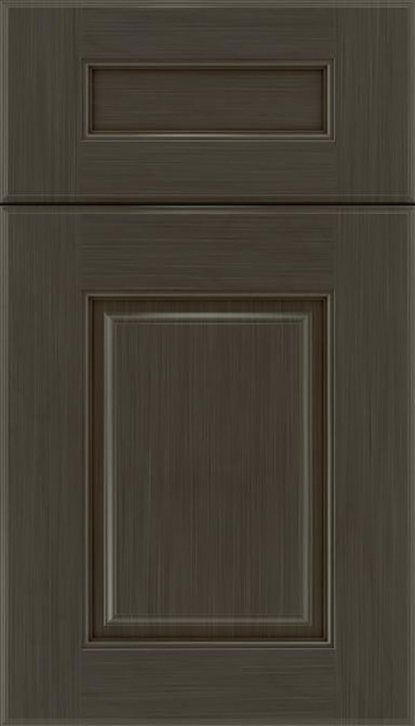 Whittington 5pc Maple raised panel cabinet door in Weathered Slate