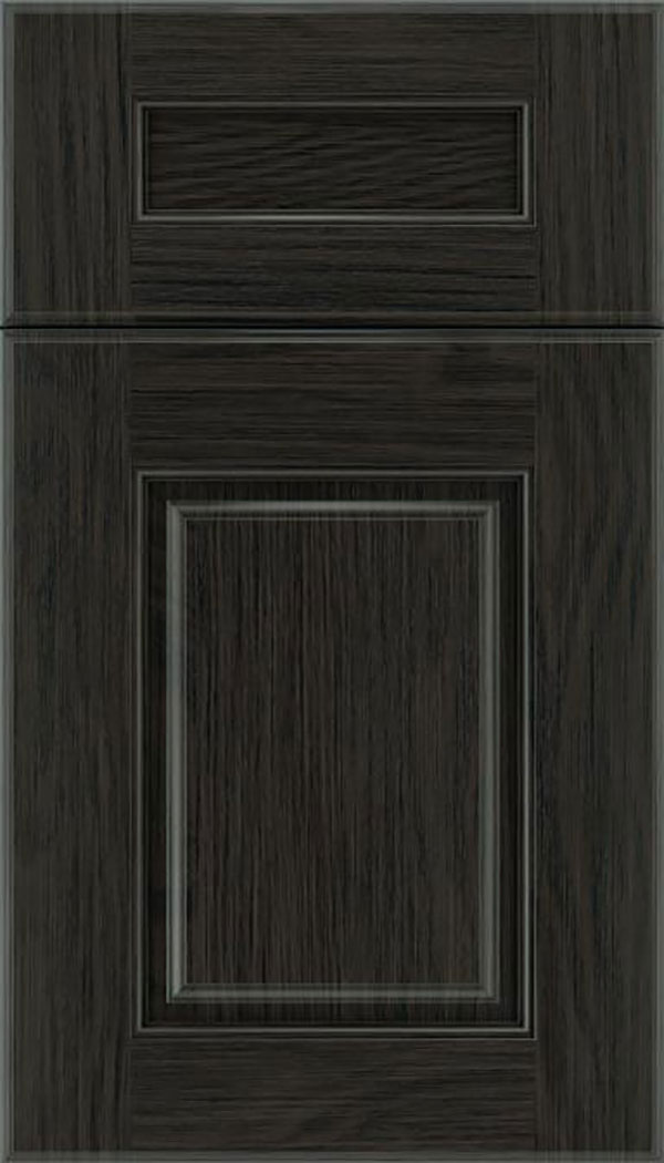 Whittington 5pc Oak raised panel cabinet door in Weathered Slate