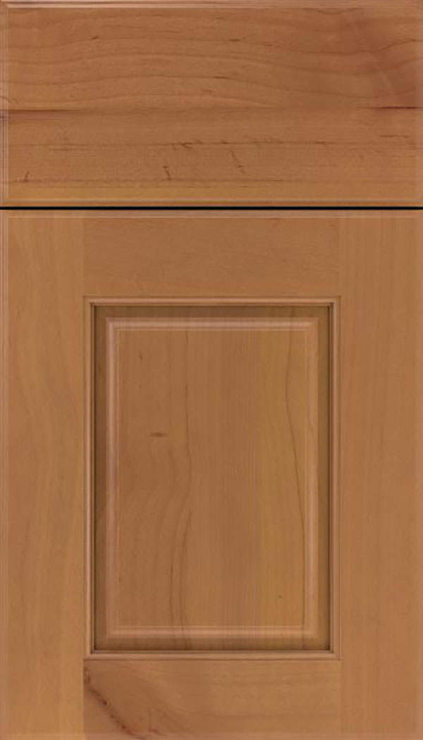Whittington Alder raised panel cabinet door in Ginger