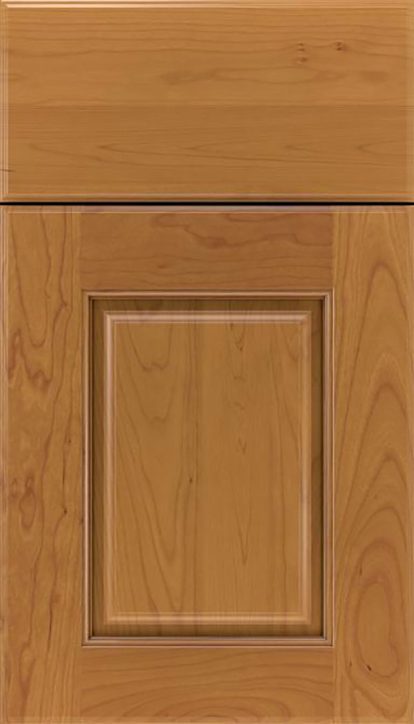 Whittington Cherry raised panel cabinet door in Ginger
