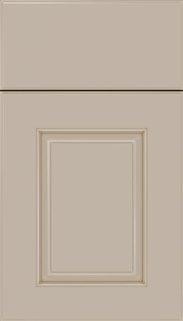 Whittington Maple raised panel cabinet door in Moonlight