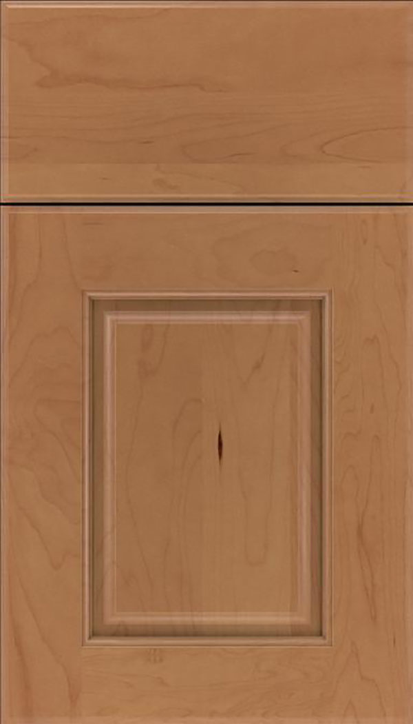 Whittington Maple raised panel cabinet door in Nutmeg