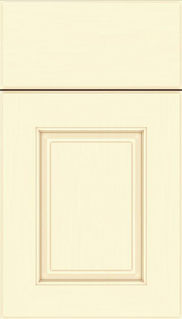 Whittington Maple raised panel cabinet door in Palomino