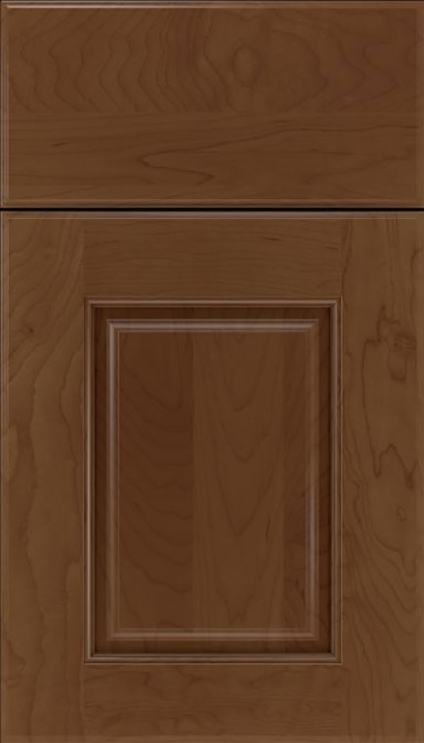 Whittington Maple raised panel cabinet door in Sienna