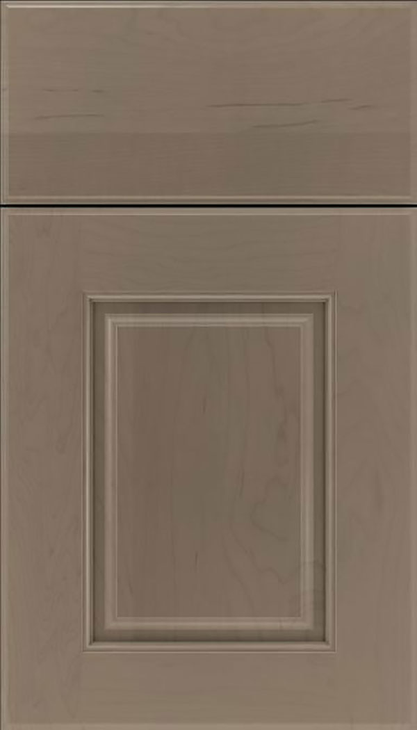 Whittington Maple raised panel cabinet door in Winter