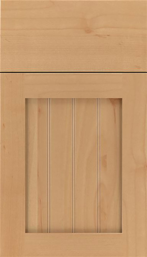 Winfield Alder beadboard cabinet door in Natural