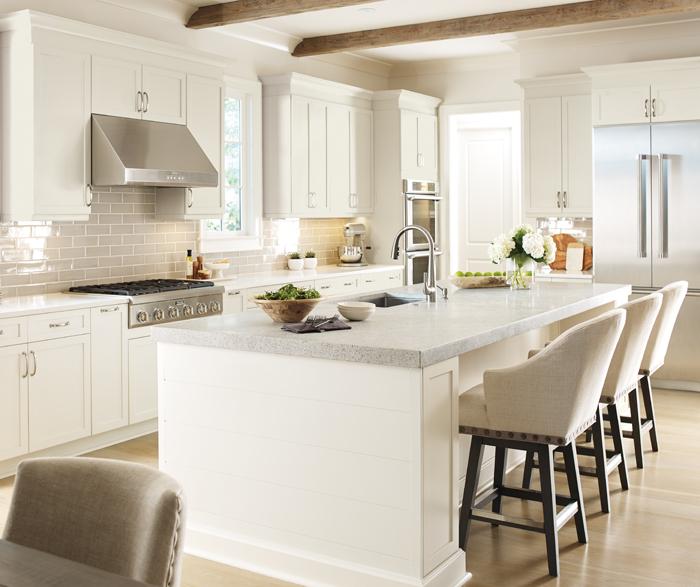 Off White Kitchen Cabinets Kitchen Craft Cabinetry