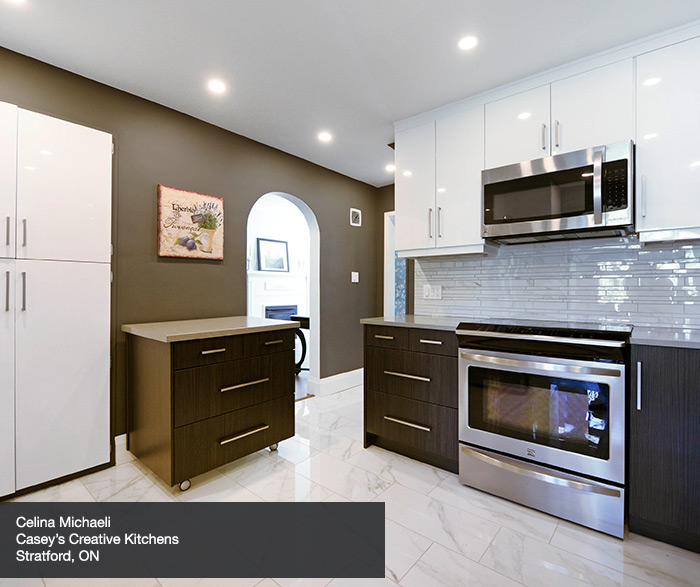 Contemporary Kitchen Cabinets In Thermofoil Kitchen Craft