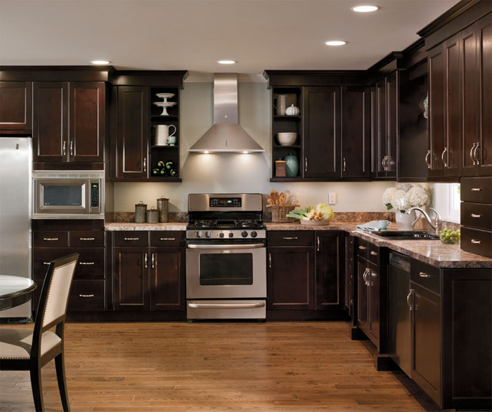 Alder Cabinets In Casual Kitchen By Kitchen Craft Cabinetry ...