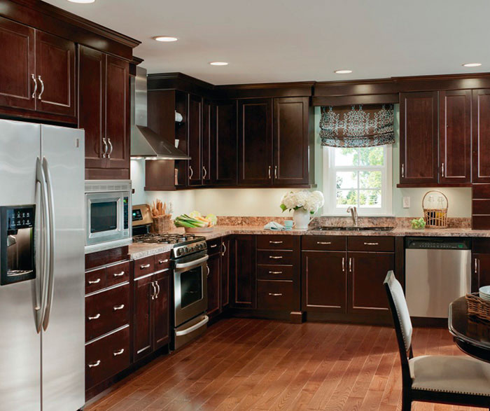 ... Alder Cabinets In Casual Kitchen By Kitchen Craft Cabinetry ...